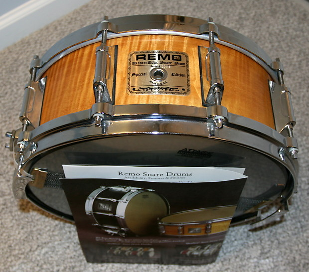 remo master edge snare drum special edition 5 5 x 14 with reverb. Black Bedroom Furniture Sets. Home Design Ideas