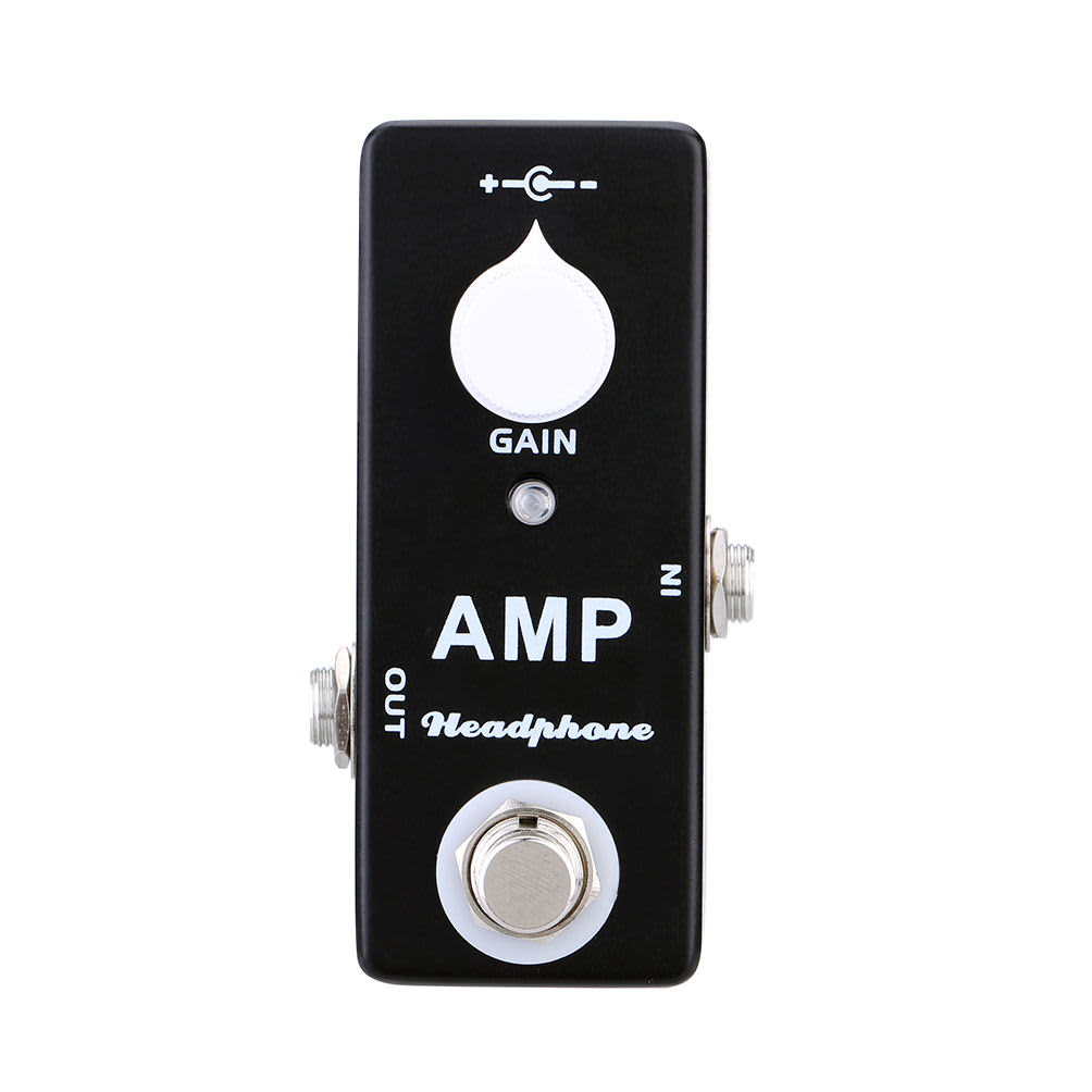 mosky amp headphone mini pedal mxr microamp style fender reverb. Black Bedroom Furniture Sets. Home Design Ideas