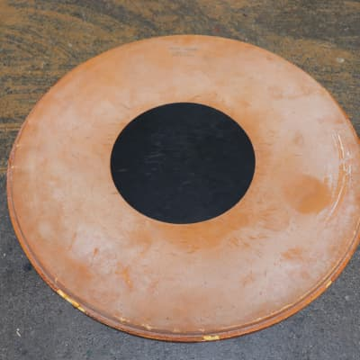 "Vintage Canasonic 18"" Drum Head w/Black Dot"