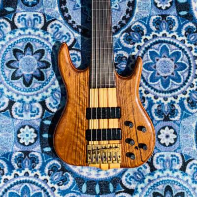 Ken Smith 6 string fretless 1992 Shedua for sale