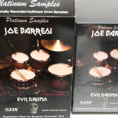 Platinum Samples Joe Barresi Evil Drums for BFD   JRR Shop   Reverb