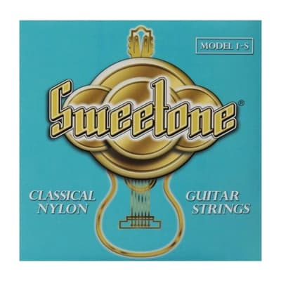 LaBella 1-S Nylon Classical Guitar Strings, Medium Tension Made in USA for sale