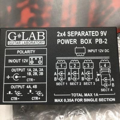 G-Lab 2x4 separated 9v power box