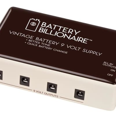 Danelectro Battery Billionaire Effect Pedal Power Supply for sale