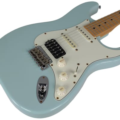 Suhr Classic Antique Guitar, Sonic Blue, Maple, HSS for sale