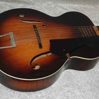 Melody King hollow body arch top acoustic guitar for sale