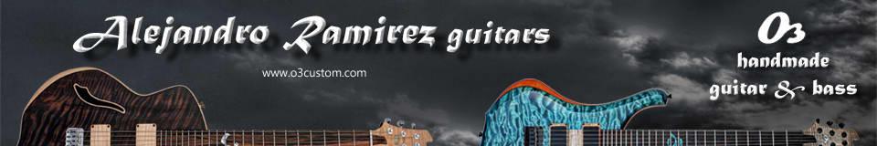 Alejandro Ramirez o3 guitars