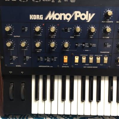 Korg Mono/Poly 1980s
