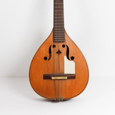 Jaime Ribot Vintage Laud Lute Laut PEGS 1900 Old Guitar Spanish Guitar Jaume for sale