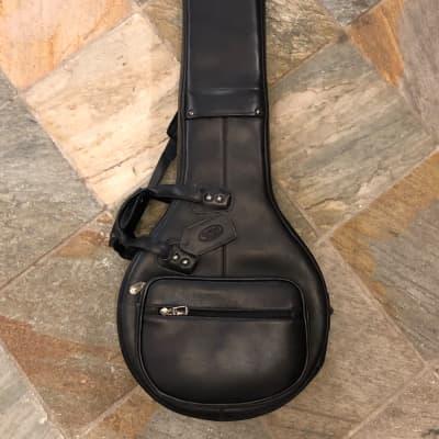 Reunion Blues Leather Resonator Banjo Bag Black