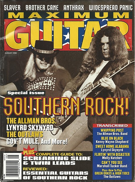 flirting with disaster molly hatchet guitar tabs chords chart guitar player