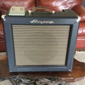 "Ampeg Model R-12R-B Reverberocket 12-Watt 1x12"" Guitar Combo with 7591A Power Tubes"