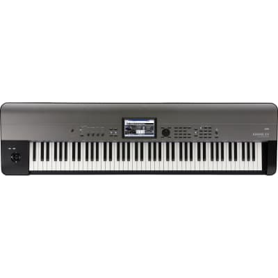 Korg Krome EX 881 Keyboard Workstation, 88‑Key, Black
