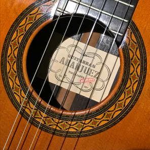 Aranjuez/Takamine no. 7 Classical Guitar for sale