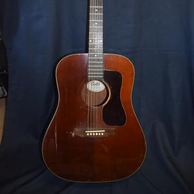 Guild D-25M 1979 Brown Mahogany for sale