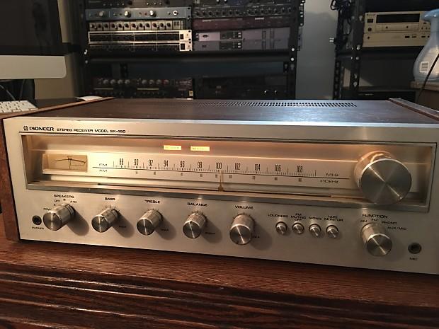 pioneer sx 450 vintage receiver reverb. Black Bedroom Furniture Sets. Home Design Ideas