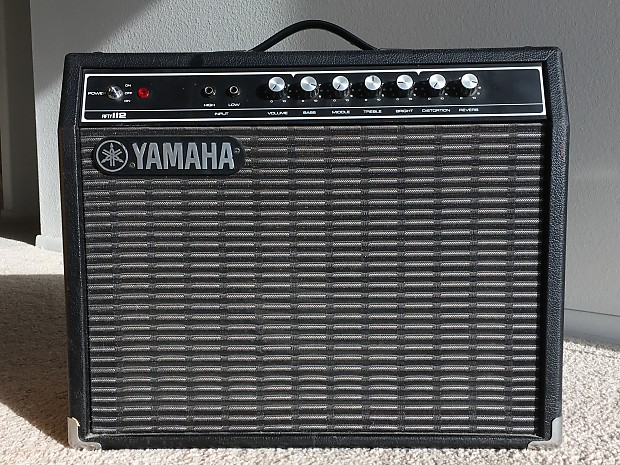 yamaha 50 112 electric guitar amp 1976 reverb. Black Bedroom Furniture Sets. Home Design Ideas