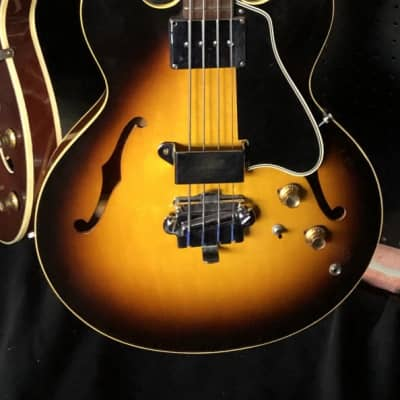 Gibson EB-2 semi-acoustic bass guitar, c1966 for sale