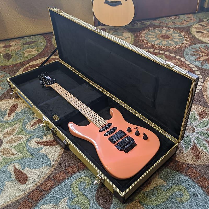 Fender US HM Strat Vintage HSS Electric Guitar Pink 1989-90 USA w/ Hard Case