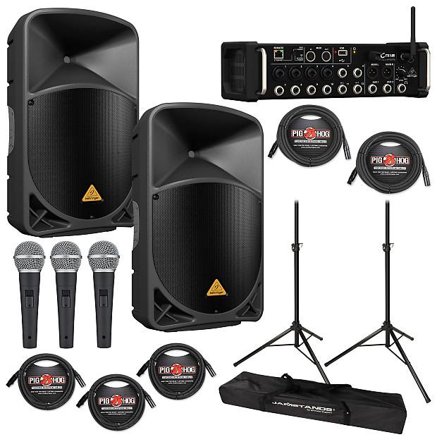 Behringer Eurolive B215d Pa Speaker With Xr12 12 Input