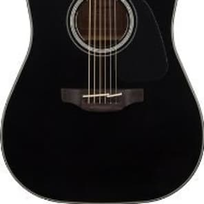 Takamine GD30CE-BLK Dreadnought Cutaway Acoustic-Electric Guitar, Black, GD30CEBLK for sale