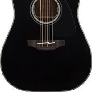 Takamine GD30CE-BLK Dreadnought Cutaway Acoustic-Electric Guitar, Black, GD30CEBLK for sale