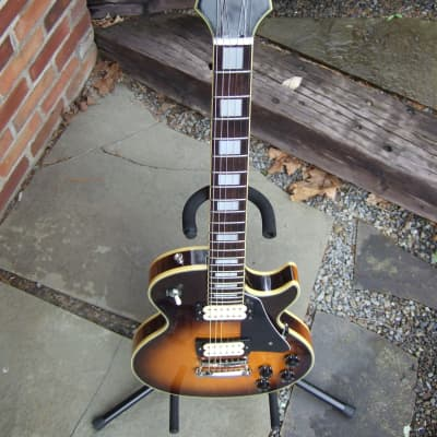 Odessa Single Cut 1978-82 Tobacco Burst Cream Binding  Gotoh Pickups Made In Japan for sale