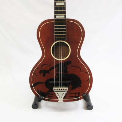 United Buckeye Acoustic Guitar 1950s for sale