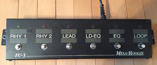 Mesa Boogie serial number explanation
