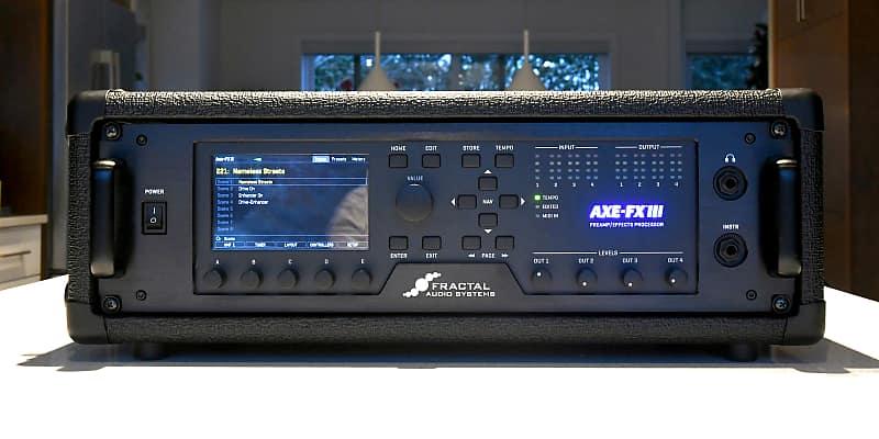 Fractal Audio Axe-FX III 2018 With NYC 3U Rack case
