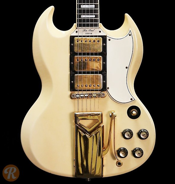 gibson les paul sg custom 1961 white price guide reverb. Black Bedroom Furniture Sets. Home Design Ideas