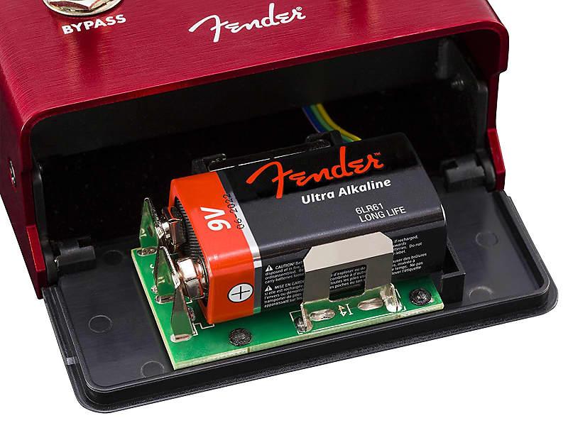 Genuine Fender Santa Ana OVERDRIVE Electric Guitar Effects Stomp-Box Pedal