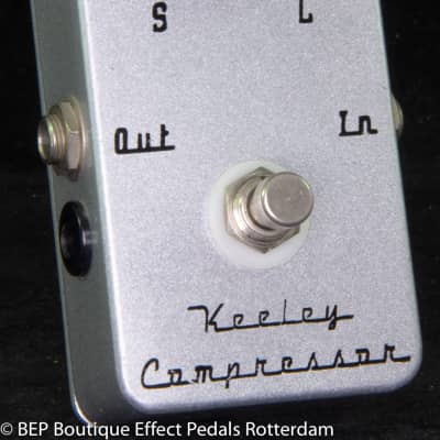 Keeley Compressor 2 Knob s/n 2789 USA signed by Robert Keeley, as used by Matt Bellamy MUSE
