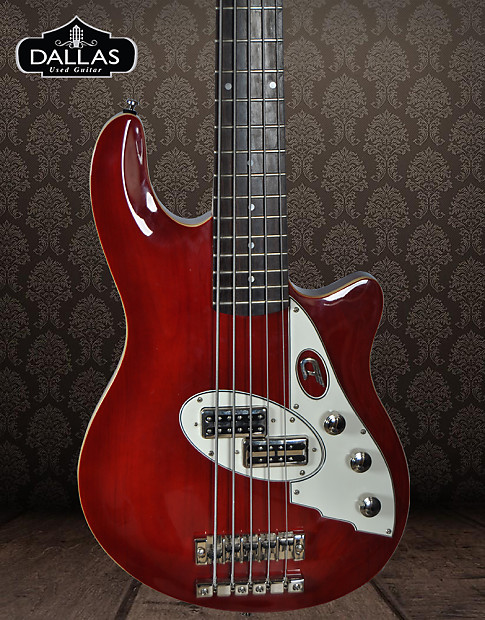 duesenberg d bass red 5 string electric bass with custom reverb. Black Bedroom Furniture Sets. Home Design Ideas