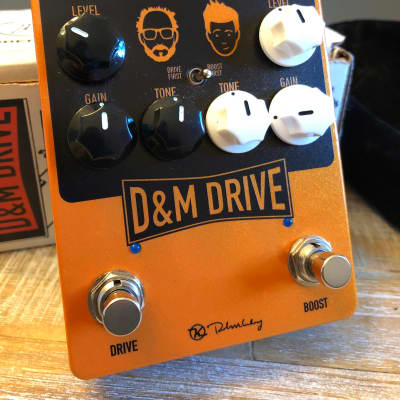 Keeley D&M Drive Overdrive & Boost