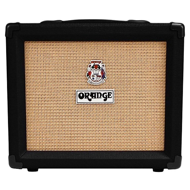 orange crush 20rt guitar combo amplifier with reverb black reverb. Black Bedroom Furniture Sets. Home Design Ideas