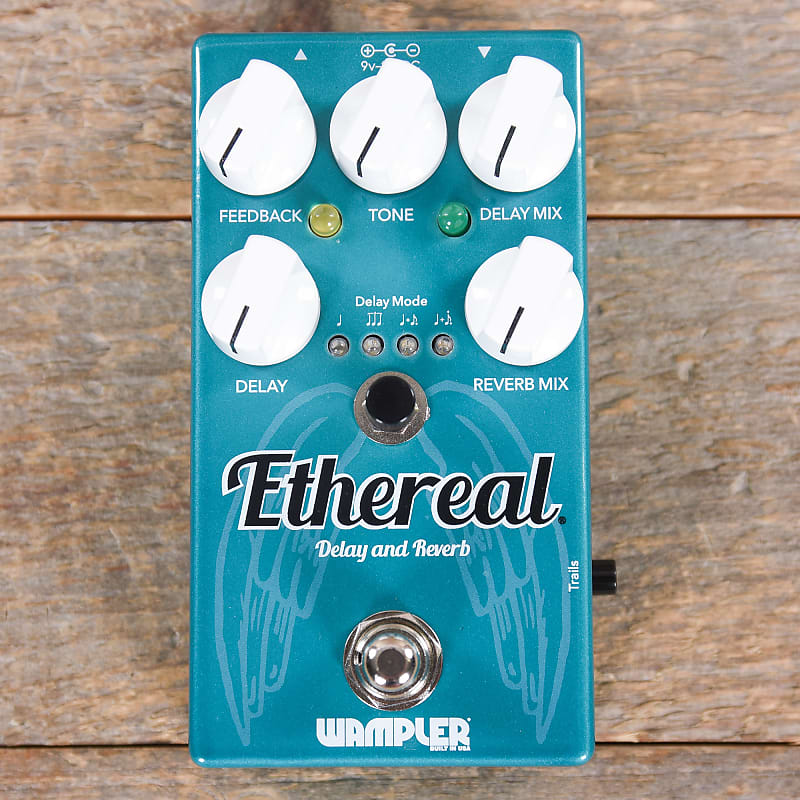 wampler ethereal delay and reverb pedal used reverb. Black Bedroom Furniture Sets. Home Design Ideas