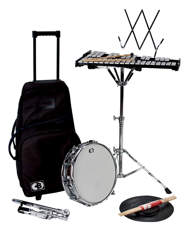 CB Percussion 7106 Traveler 32-Note Bell Kit Xylophone Set with 14