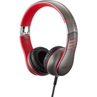 Casio XW-H3 Grey/Red Headphones