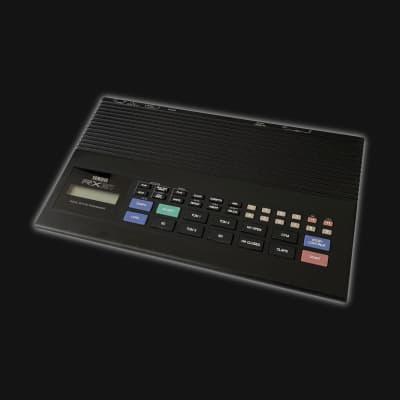 Yamaha RX21 Digital Rhythm Programmer 1985 Black