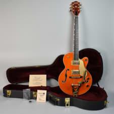 2002 Gretsch 6120JR-585 Semi Hollow Electric Guitar Orange w/OHSC