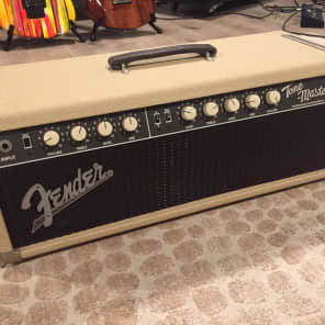 Fender Tone-Master 2-Channel 100-Watt Guitar Amp Head 1994 - 2002