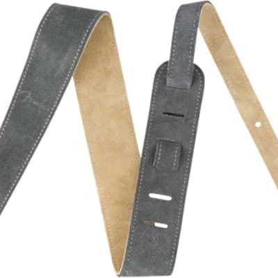 "BLACK #099-0622-006 NEW Fender 2.5/"" Aritsan Leather Guitar Strap"