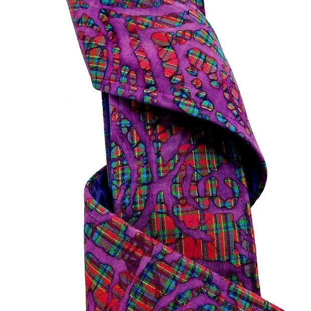 purple and turquoise tie dye batik guitar strap artisan. Black Bedroom Furniture Sets. Home Design Ideas