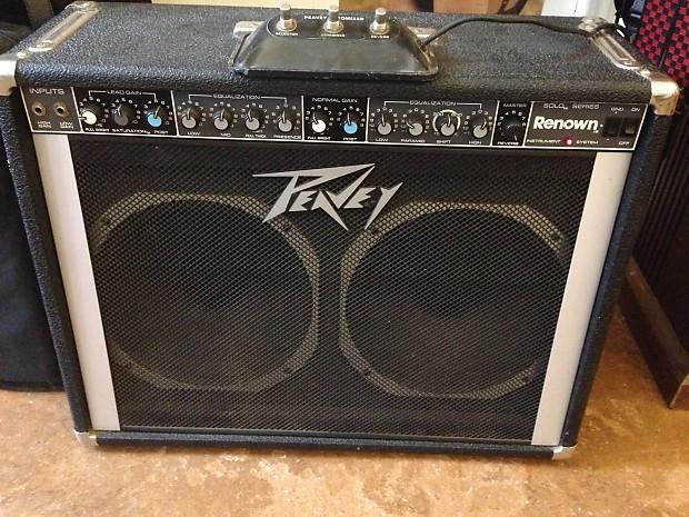 vintage peavey 212 renown solo electric guitar amplifier reverb. Black Bedroom Furniture Sets. Home Design Ideas