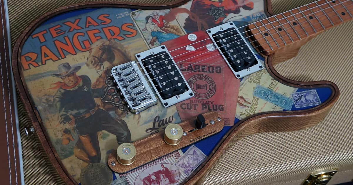The 22 Most Outrageous Guitar Finishes On Reverb Right
