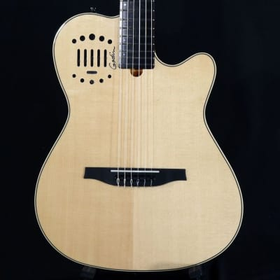 Godin MultiAc Grand Concert Duet Ambience Natural High Gloss w/ Factory Warranty(19082162) for sale