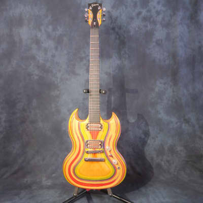 Gibson Gibson SG Zoot 2009 Rainbow Electric Guitar + Original Gibson Soft Case 2009 for sale