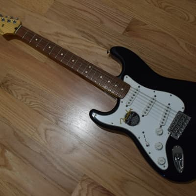 Fender Standard Stratocaster Left-Handed 2003 Black for sale