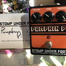 Stomp Under Foot (SUF) Pumpkin Pi Big Muff Pedal w/ Original Box